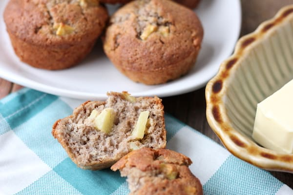gluten-free apple cinnamon muffins