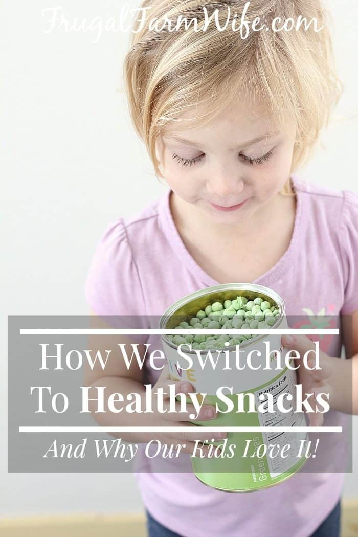 How We Painlessly Switched To Healthy Snacks. This is amazing!