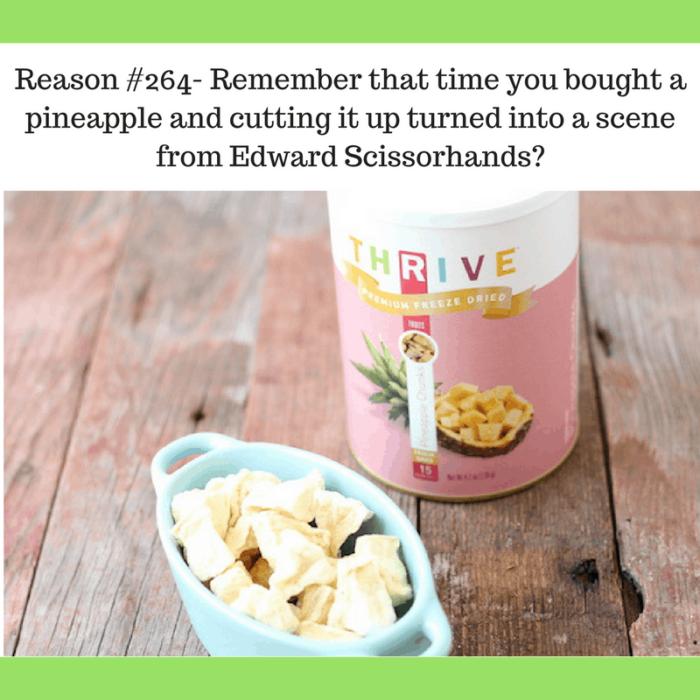 cutting pineapple is hard