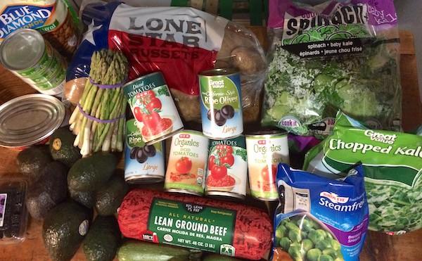 this week's grocery haul