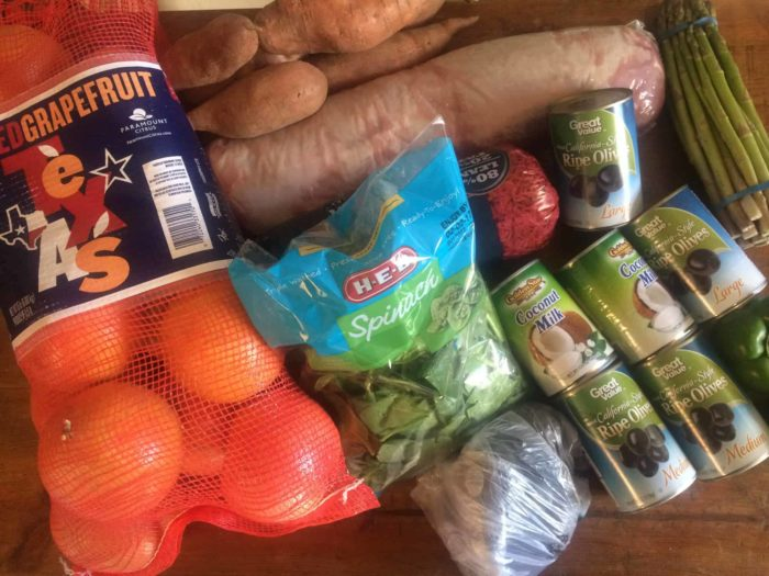 whole30 grocery haul