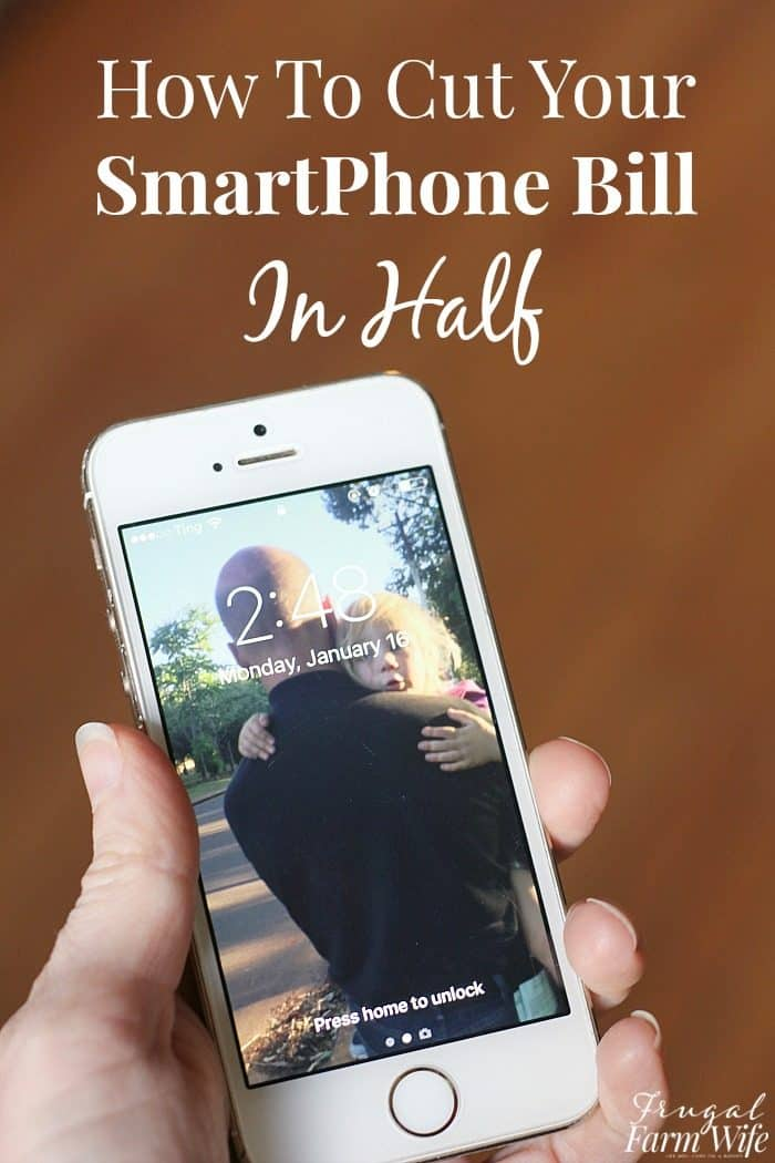 how to cut your cell phone bill in half - yes, you really can!