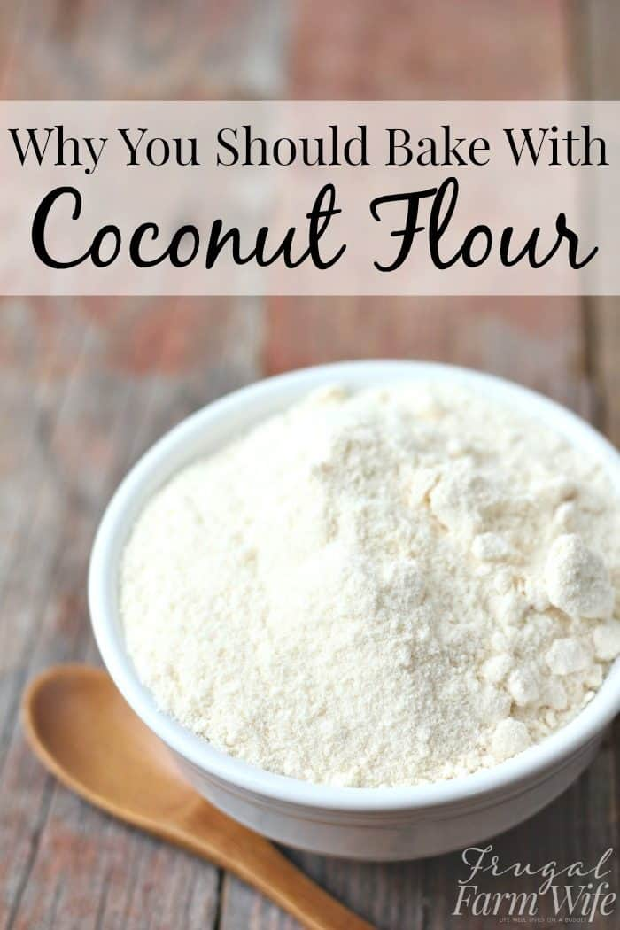 Why you should bake with coconut flour - This stuff is amazing!