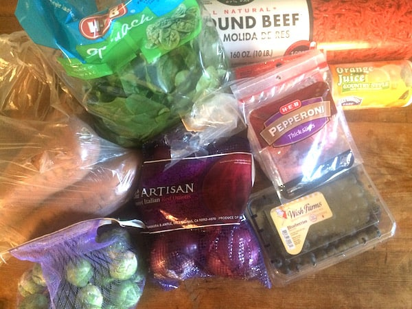 Whole30 Week 2 Menu Plan And Shopping List: groceries for the week