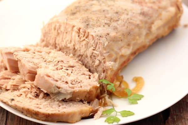 pork loin with onions