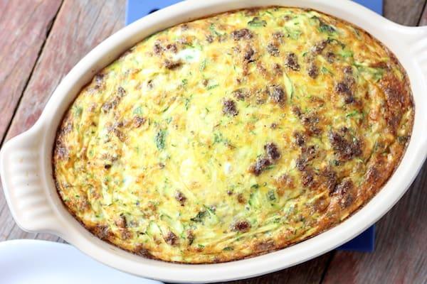 Whole30 Zucchini Frittata