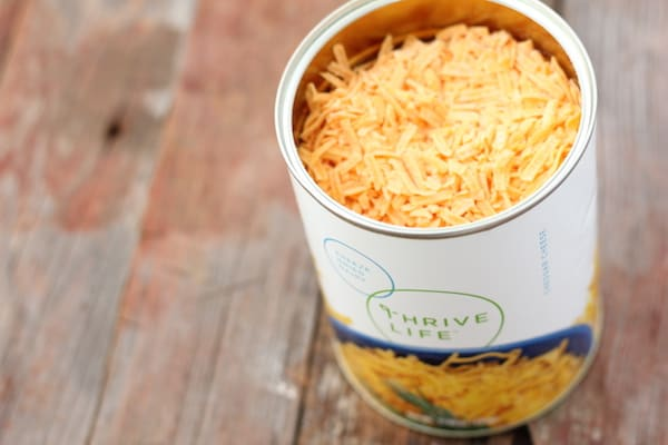 Thrive Life Review: Cheddar Cheese