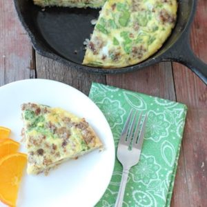 Clean Eating Breakfast Frittata