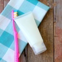 Homemade Peppermint Toothpaste