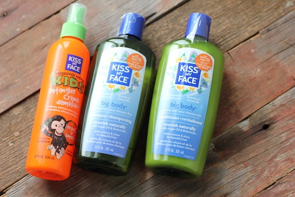 kiss my face eco-friendly hair products
