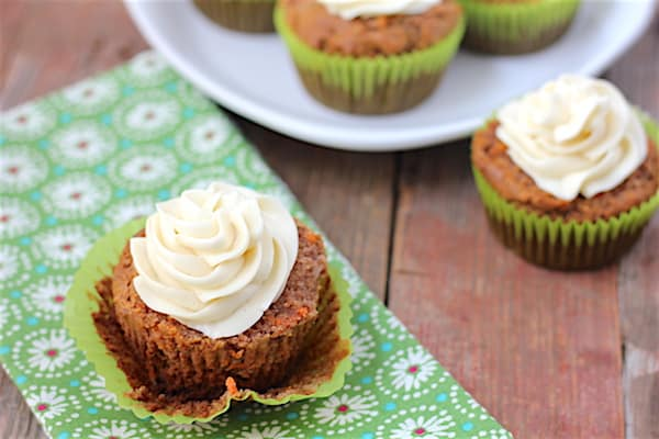 grain-free carrot cupcakes recipe