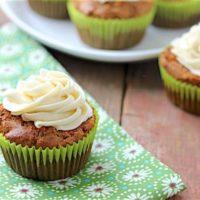 Gluten-Free Carrot Cupcakes Recipe
