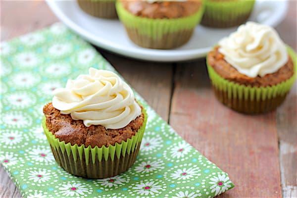 carrot cupcakes gluten-free