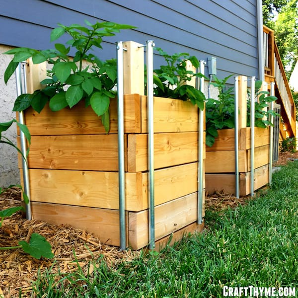 how to build potato boxes