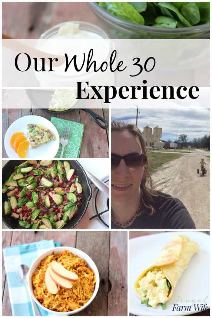 what's a whole30 really like? Here's our Whole30 Experience!