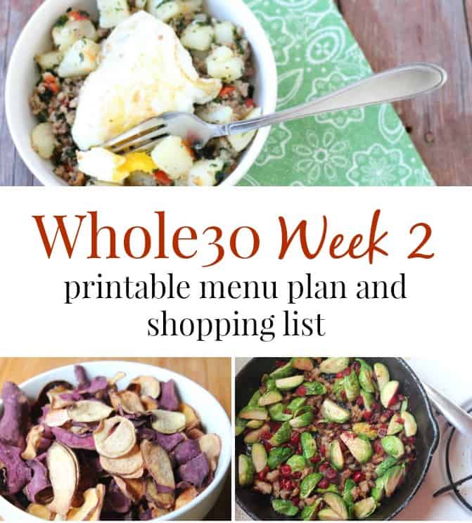 whole30 experience week 2