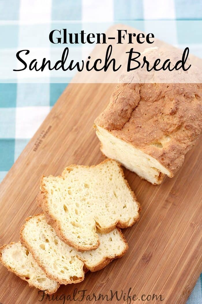 This gluten-free sandwich bread recipe stays soft for days!