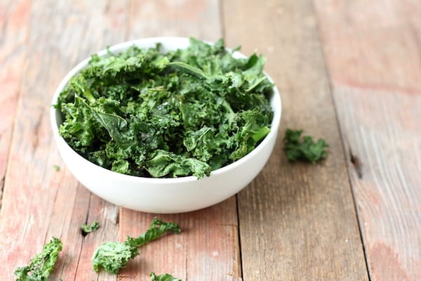 easy kale chips recipe   healthy snack