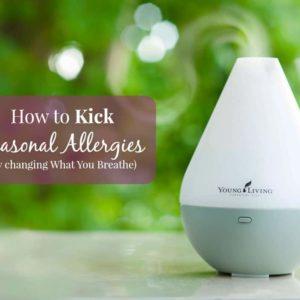 How to kick Seasonal Allergies –  just by breathing