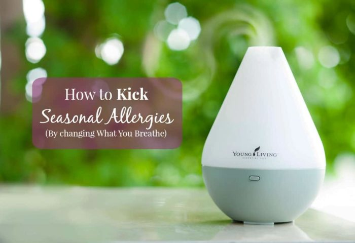 how to kick seasonal allergies