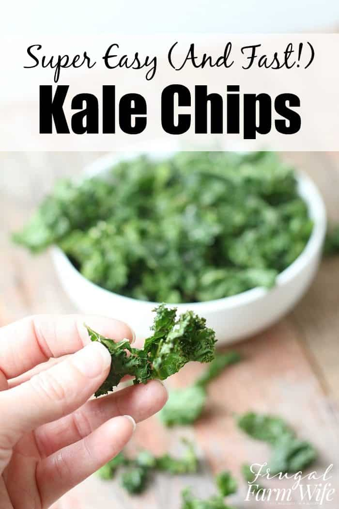 This Super Easy Kale Chips Recipe is the perfect healthy snack for everyone!