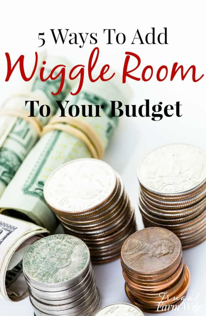 Check out this bloggers great advice on how to add some wiggle room to your budget! I'm going to try a few of her ideas.