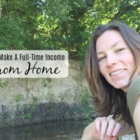 How I Make A Full Time Income Working From Home