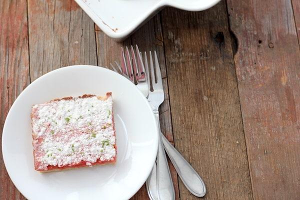 gluten-free strawberry-lime bars