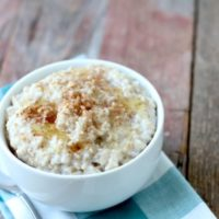 Simple Instant Pot Steel Cut Oatmeal