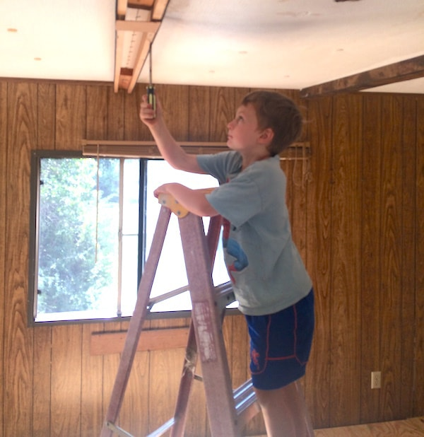 Mobile Home Project Update: Floors and Ceilings | The Frugal ... on
