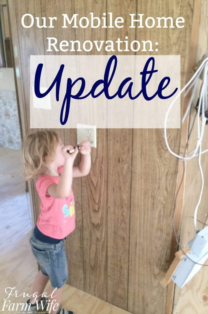 our mobile home renovation project
