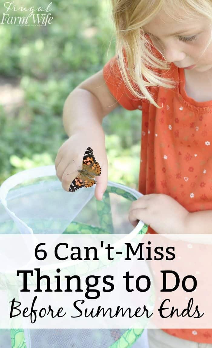 6 things to do before summer ends | kids activities | family fun