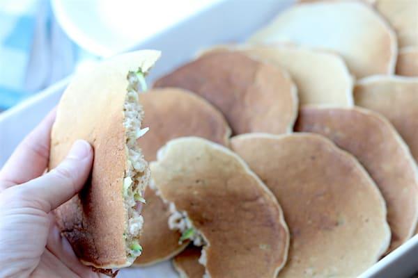 gluten-free zucchini pancakes