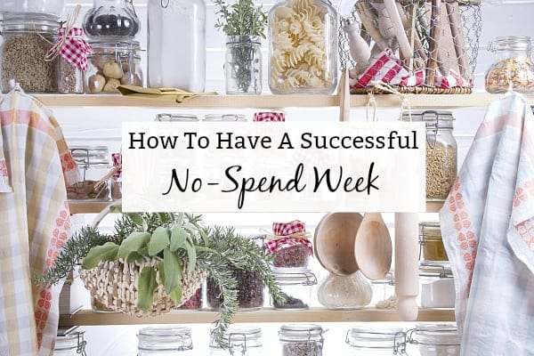 how to rock a no spend week