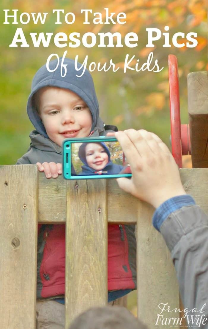 How to Take Awesome Pics of Your Kids - yes YOUR wiggly kids! ;)