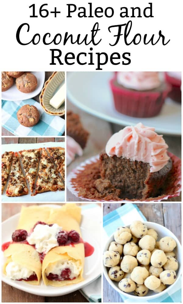 Love this list of delicious-looking Coconut Flour Recipes!