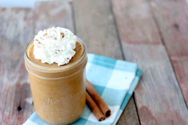 dairy-free pumpkin pie smoothie