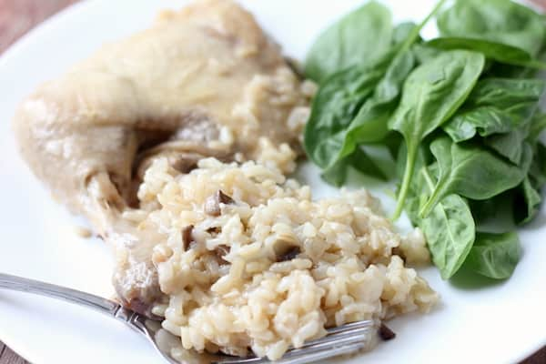 simple chicken and rice dinner in the instant pot