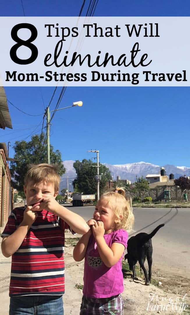 Are you traveling this fall? These 8 tips will eliminate the travel stress for moms!