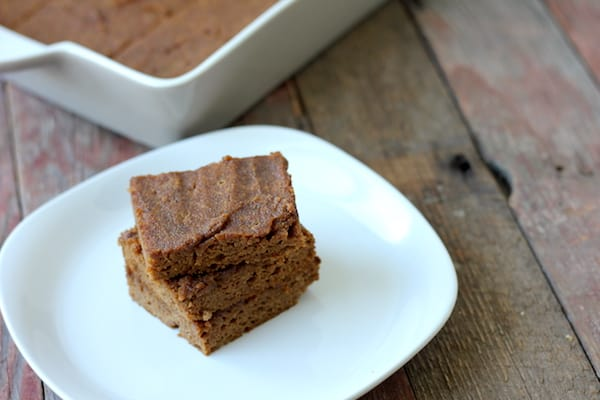 paleo pumpkin blondies recipe