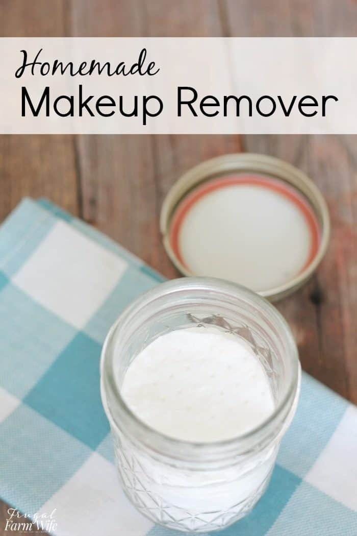 These homemade makeup remover wipes will leave your face feel fresh and clean!