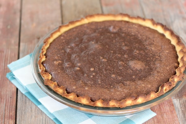 pie crust made with coconut flour