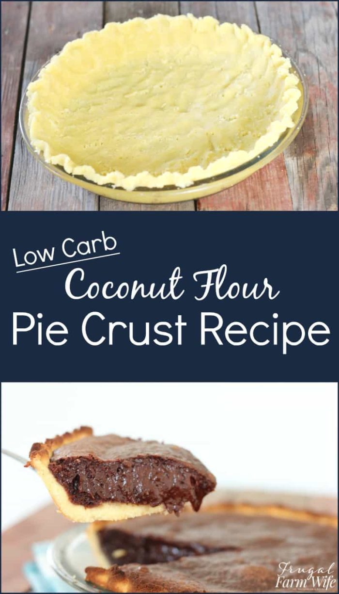 This coconut flour pie crust recipe will help you enjoy the holidays while eating healthier desserts this year!