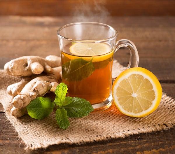 ginger tea for natural headache remedy
