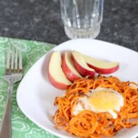 Simple Sweet Potato Egg Nests