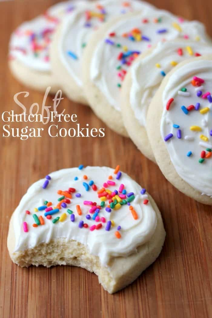 This gluten-free sugar cookie recipe will impress your friends - in fact they won't even know it's gluten-free!