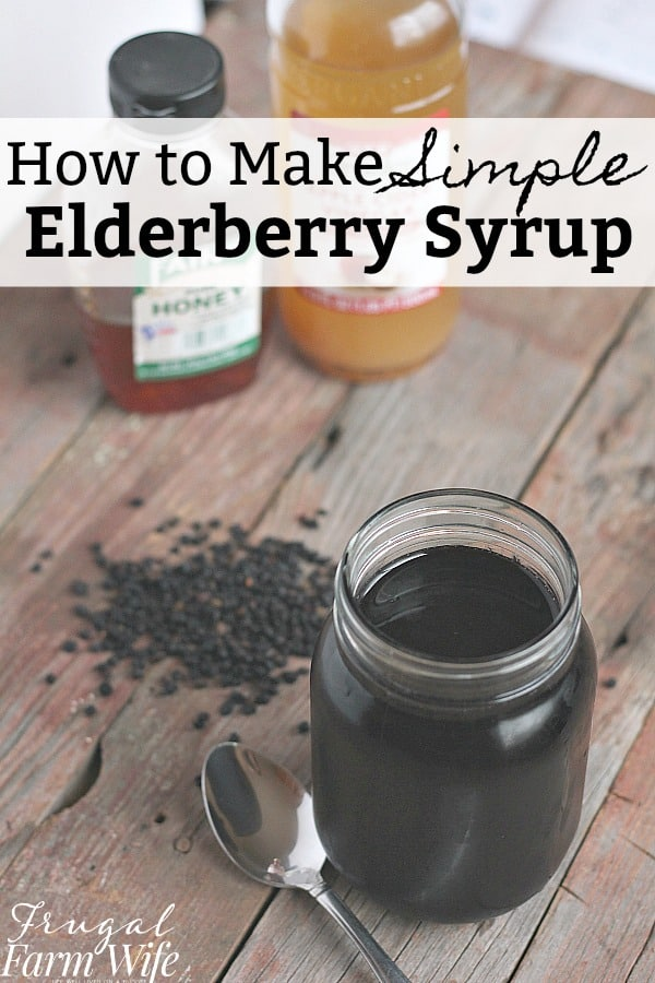 Help keep your family healthy by learning how to make elderberry syrup!