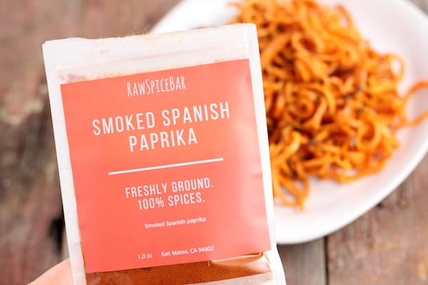 sweet potatoes with smoked paprika