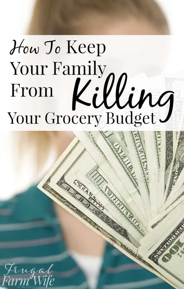how to keep your family from killing your budget