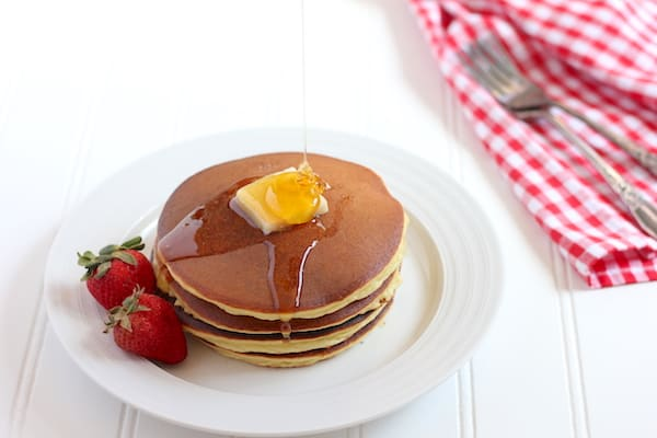 Amazing coconut flour pancake recipe